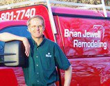 Brian Jewell and his Big Red Truck